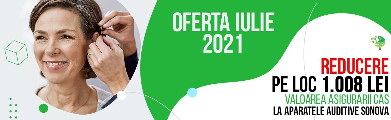 Oferta Aparate Auditive Iulie 2021